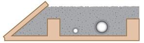 Lufthuller i isolering illustration